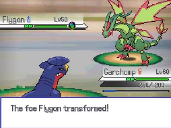 Skjermbilde fra Pokémon Insurgence.