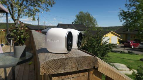 Vårt testeksemplar inneholder to kameraer.