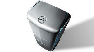 Flere husbatterier er på vei ut på markedet. Dette er Daimlers nye husbatteri.