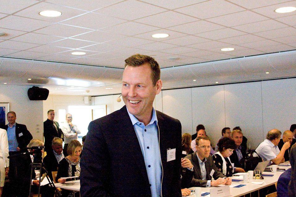 Konsernsjef Johan Dennelind i Teliasonera ønsker å endre selskapets navn til Telia Company når aksjonærene møtes til generalforsamling 12. april.