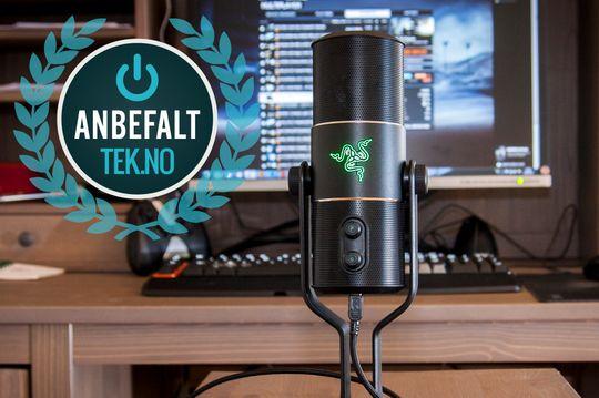 Skal du ha en god og brukervennlig mikrofon til YouTube-kanalen din eller lignende? Da er Razer Seiren et godt valg.