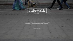 Sidewalk Labs skal gjøre det lettere å bo i byene.