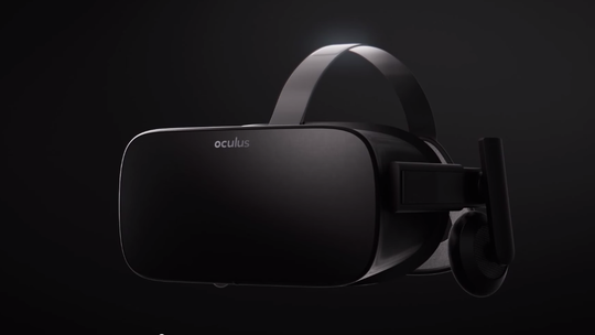 Forbrukerversjonen av Oculus Rift.
