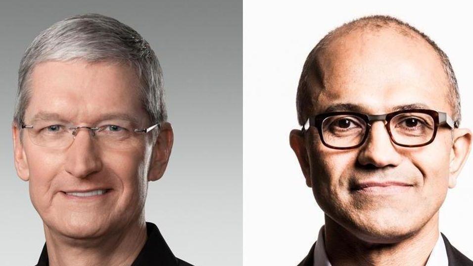 Apple-sjef danker ut Microsoft-sjef