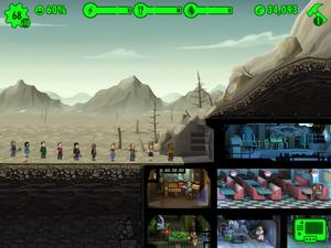 Fallout Shelter. (Bilder: Bethesda).