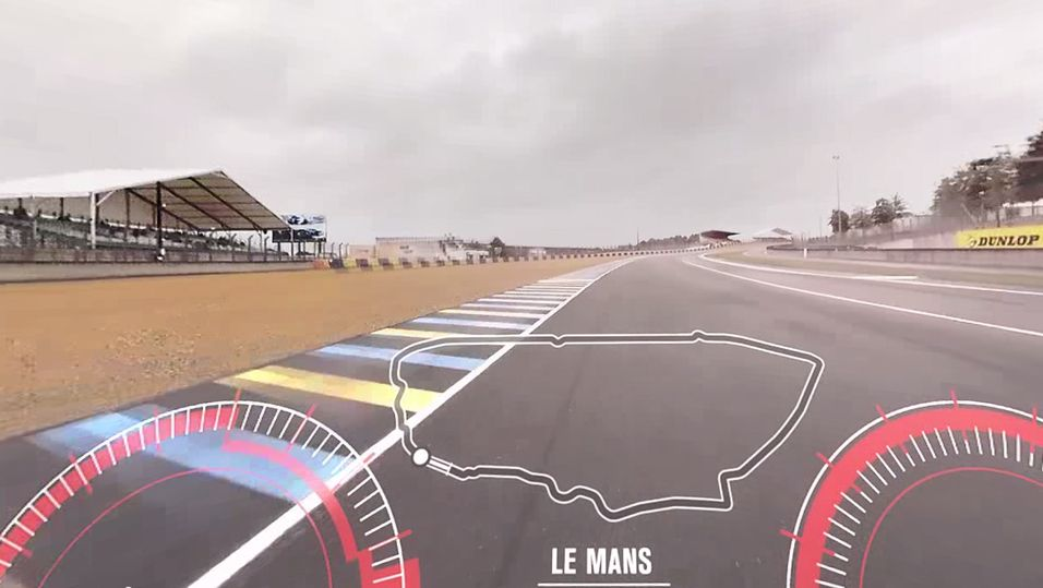 Se hvordan det er å kjøre Le Mans i 360-graders video