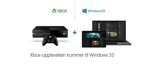 Microsoft forsøker å bringe Xbox og Windows tettere sammen. (Bilde: Microsoft).