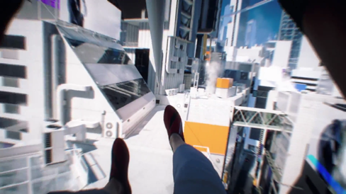 Omtrent slik spiller man Mirror's Edge: Catalyst.