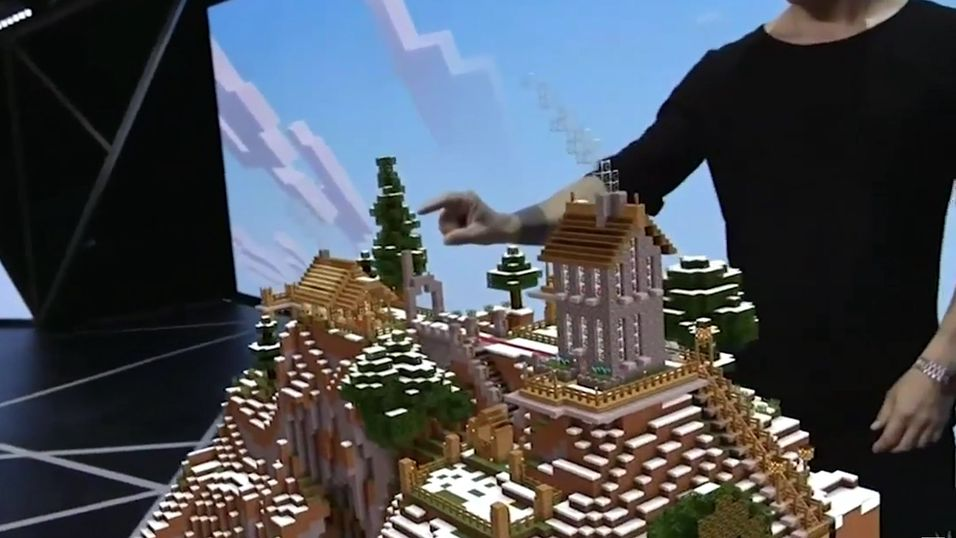 Se Minecrafts verden bli til på stuebordet