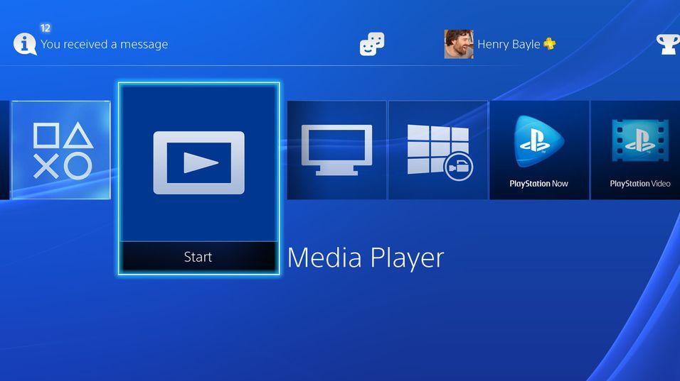 Nå er PlayStation 4 endelig et skikkelig mediasenter