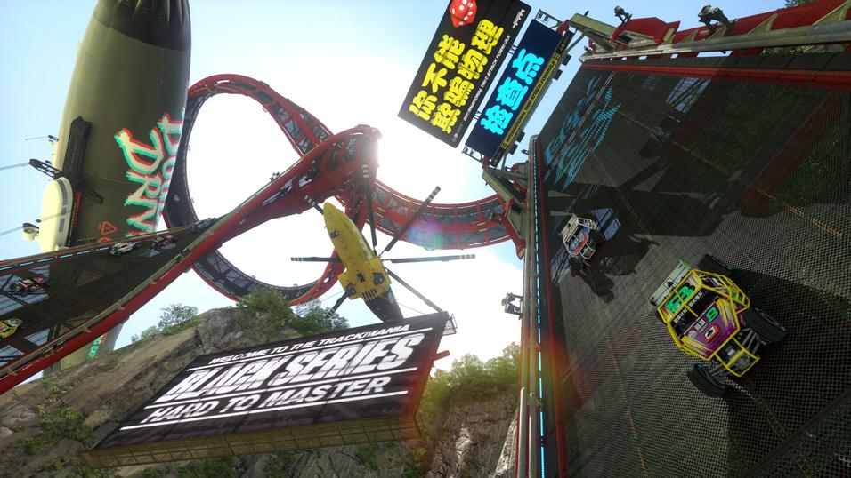 Trackmania Turbo tar den helsprøe racingserien til konsollene