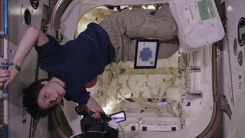 Ombord på ISS.