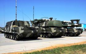 Mikrobølge-våpenet skal monteres på BUK-enheter av denne typen.