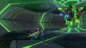 «Walker»-Arwingen tilfører nye mekanikker til Star Fox-spillene.