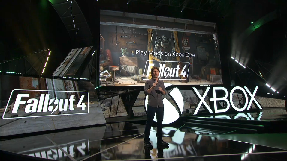 Xbox One-versjonen av Fallout 4 får PC-«mods»