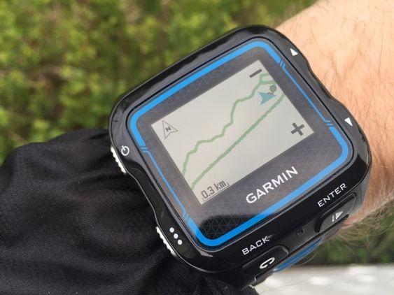 Med kartvisningen kan du se hvor du har løpt.