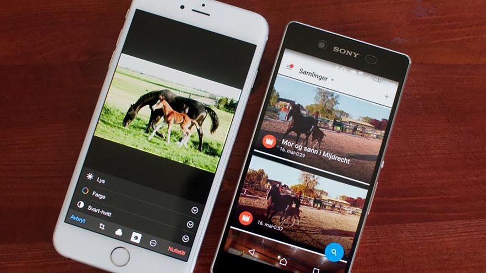 BILDER OVERALT: Skyen er løsningen når bildene befinner seg både på mobil, nettbrett og PC – det være seg Mac eller Windows-PC. Det har både Google og Apple tatt konsekvensen av.