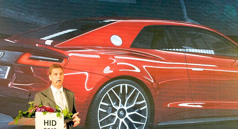 Andreas Reich jobber er sjef for avdelingen i Audi som skal utvikle ny digital teknologi.