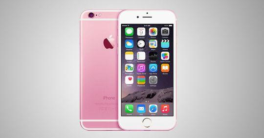 Vi så for oss en slik iPhone tidligere i år. Men den blir nok neppe så sjokkrosa som her...