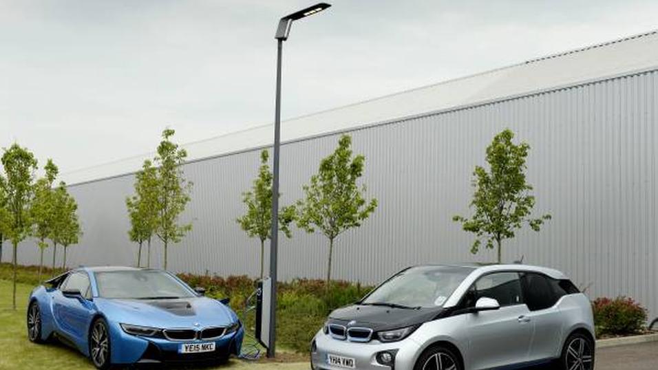 Slik ser de nye «Light & Charge»-lampene til BMW ut.