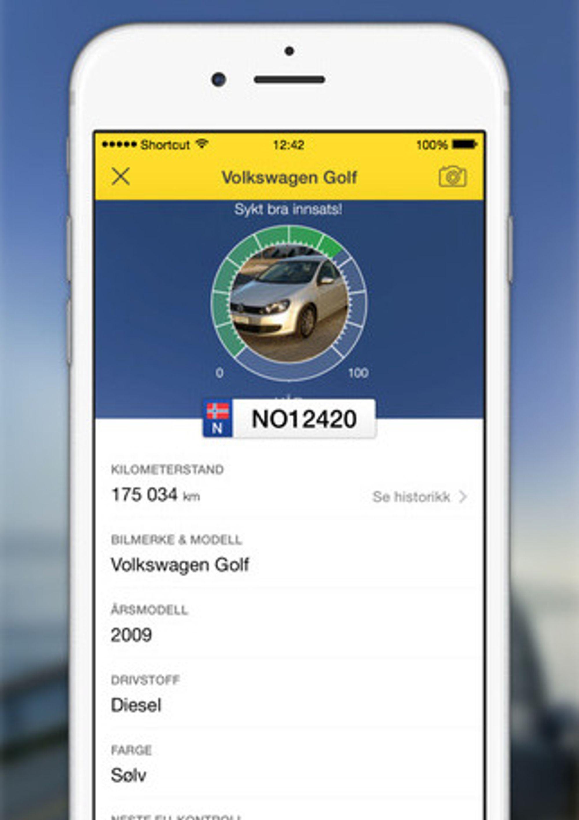 Naf bensin app
