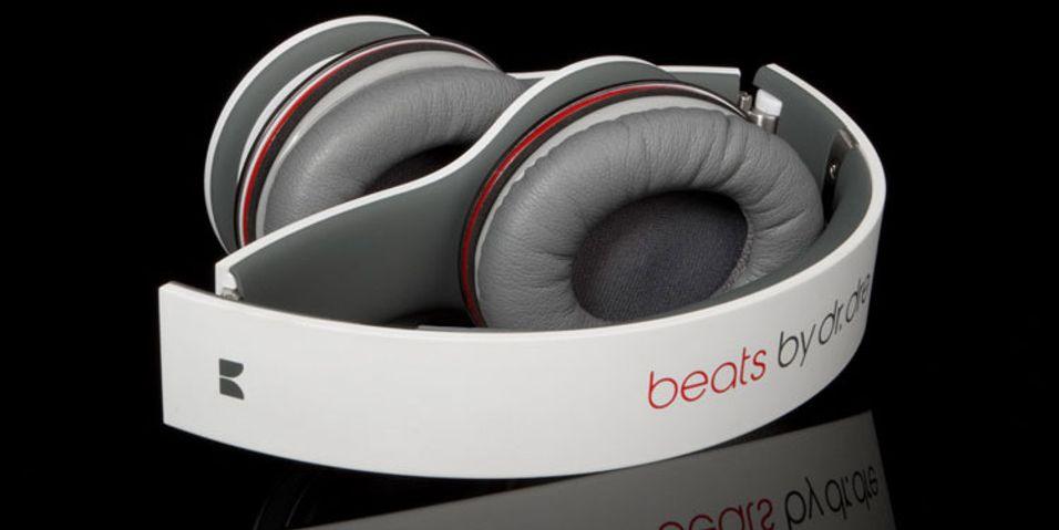 En tredjedel av vekta i Beats Solo-hodesettene kommer fra metallvekter.