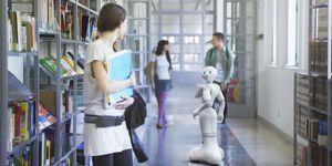 Snart må offentlige bygninger tilrettelegges for roboter.