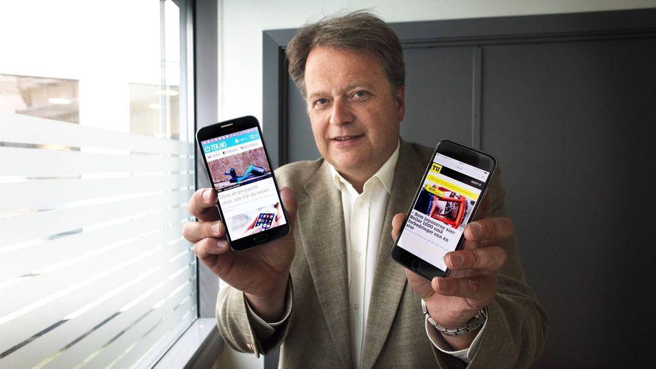 Adm. dir og ansvarlig redaktør i TU, Jan M. Moberg.