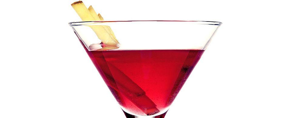 Drink med vodka og ingefær