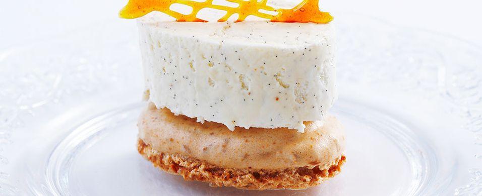 By på denne luftige og friske desserten