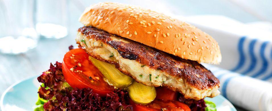 DAGENS RETT: Fiskeburgeren lager du selvsagt selv