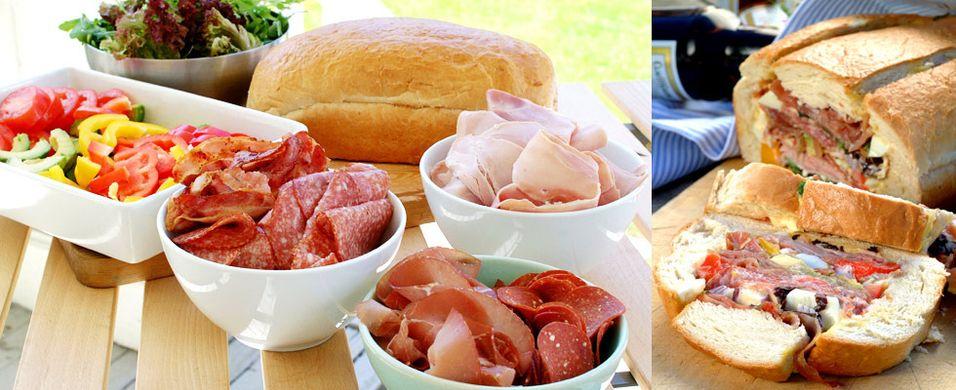 DAGENS RETT: Fyll et brød til pikniken