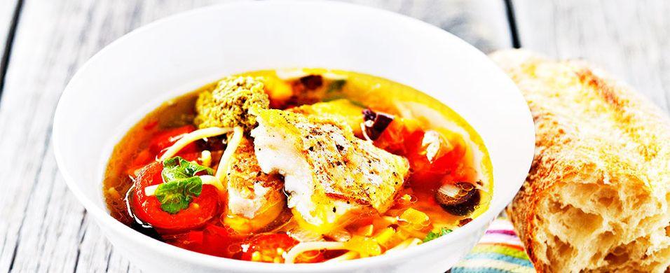DAGENS RETT: Her får du fisk og pasta i en rett