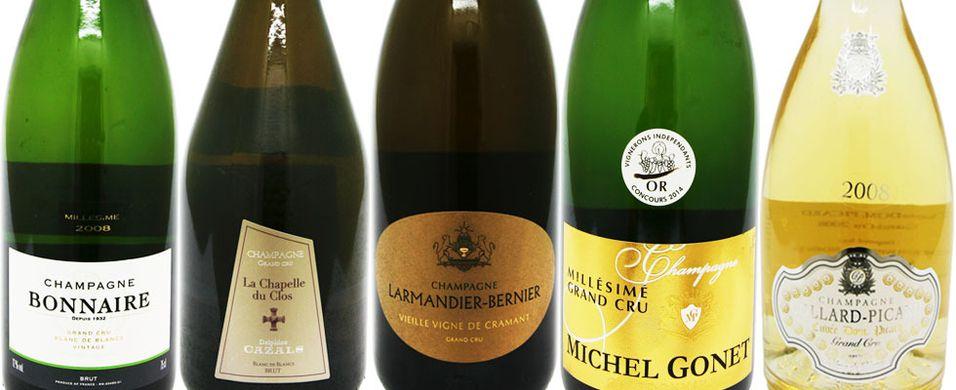 Gå for en av de nye champagnene