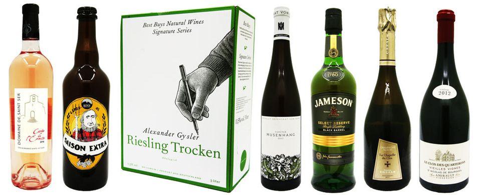 TEST: Plukk med deg champagne, øl og hvitvin til maifesten