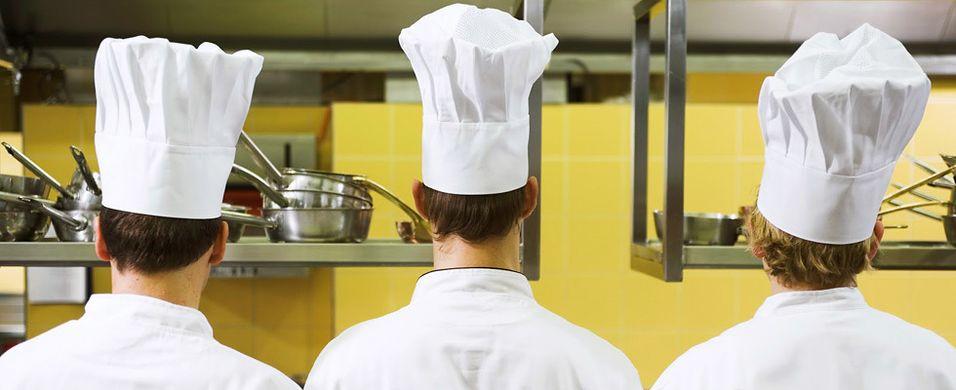 Stoppet flukten fra kokk- og servitør