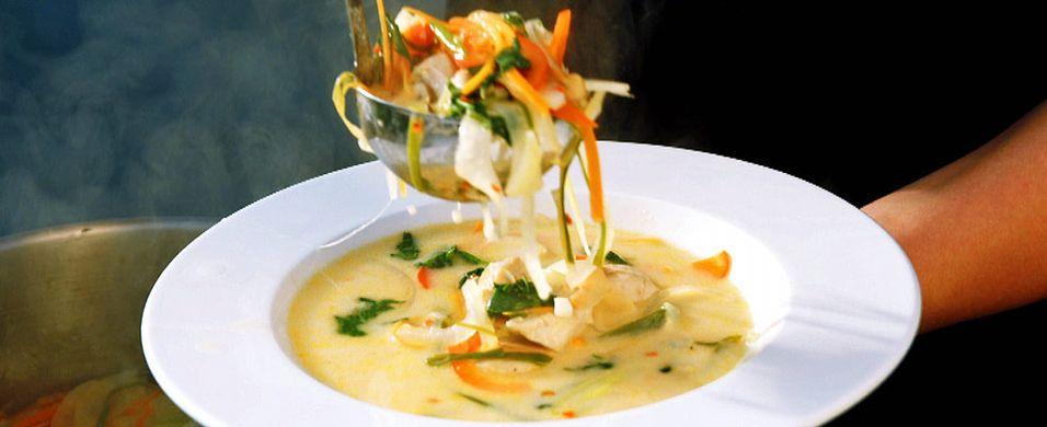 DAGENS RETT: Denne suppen får fart på smaksløkene