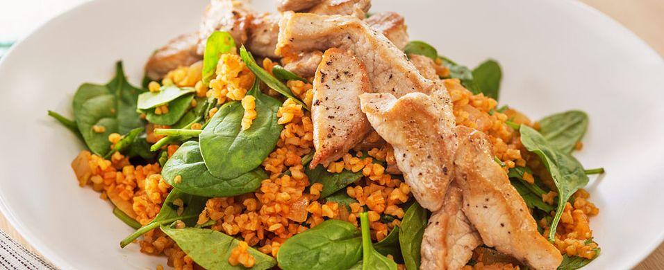 DAGENS RETT: Salater kan også være lune - slik som denne