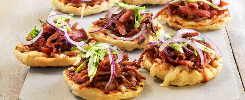 DAGENS RETT: Kjøleskapet fullt av pulled pork? Da blir det restepizza
