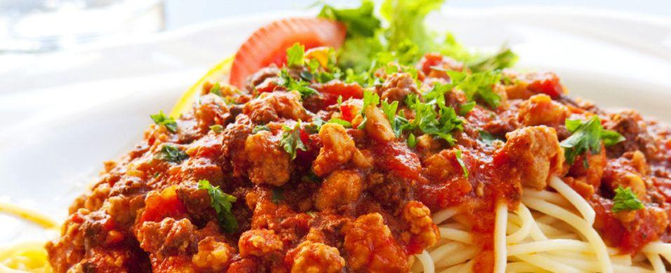 DAGENS RETT: Spagetti bolognese bringer alltid middagsglede