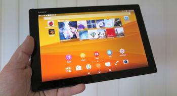 Test: Sony Xperia Z4 Tablet