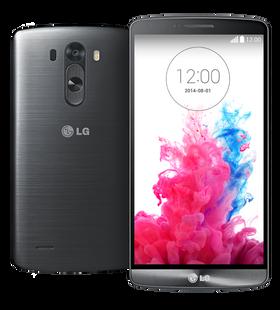 LG G3 har ekstremt god skjerm...