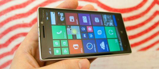 Lumia 930 er toppmodellmateriale så det holder.