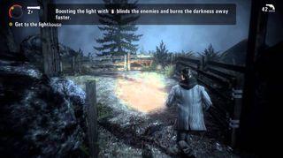 Alan Wake er blant de mange spillene med en obligatorisk opplæringsdel.