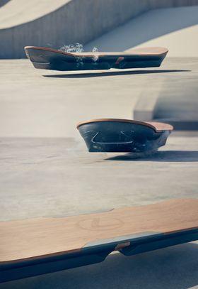 Lexus' svevebrett baserer seg på den såkalte Maglev-teknologien.