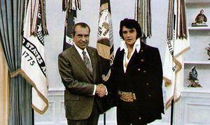 Møtet var faktisk topphemmelig, og det var ikke før flere år senere at bildene ble lagt ut.