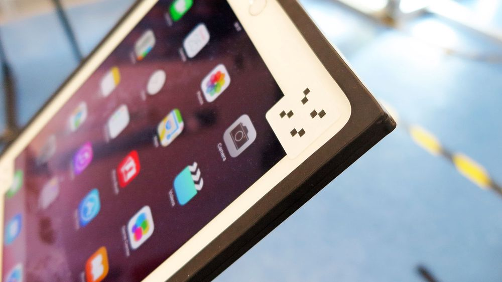 Logi med «styrthjelm» til iPad