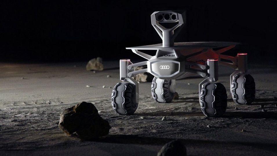 Audi vil reise til Månen