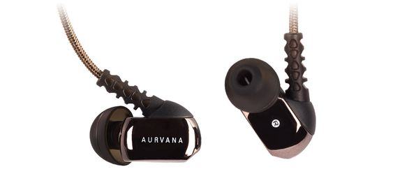 Aurvana in-ear3 Plus med silikonpropper.