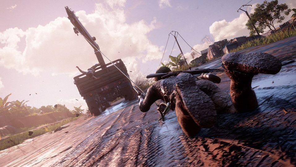 Uncharted 4-teamet skrota åtte månader med arbeid